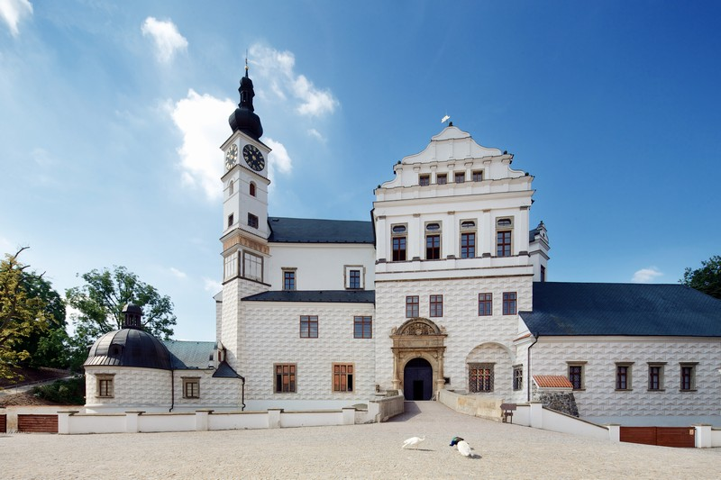 East Bohemain Gallery in Pardubice - Castle
