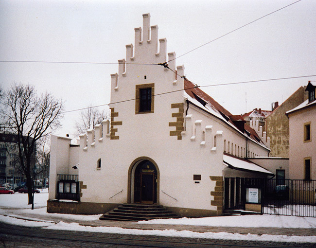 West Bohemian Gallery in Pilsen — Exhibition Hall Masné krámy