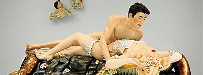 Jeff Koons, Jeff and Illona, 1990 (detail)